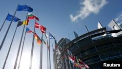欧洲议会大楼(资料照片)