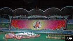 Các vũ công Bắc Triều Tiên trình diễn