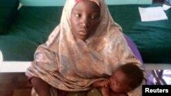 Photo d'Amina Ali, l'une des lycéennes de Chibok , enlevée en avril 2014.