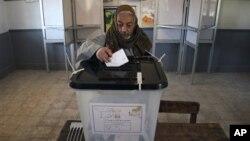 Glasanje na ustavnom referendumu u Egiptu