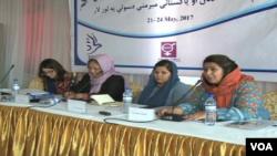افغان او پاکستانۍ میرمنې د دې کنفرانس له لارې به د خپلو هیوادونو حکومتونو ته یو لړ وړاندیزونه هم ولري.