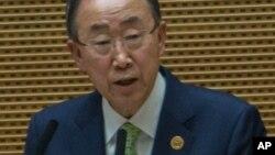 Babban sakataren Majalisar Dinkin Duniya Ban Ki-moon
