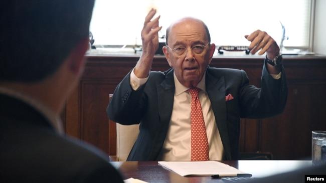 """美商务部长:美墨加贸易协定""""毒剂条款""""能迫使中国走向市场经济"""