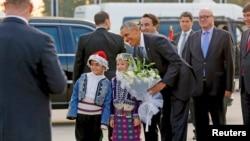 2015年11月15日美国总统奥巴马星期天抵达了土耳其参加G20峰会。