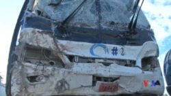 2017-03-13 美國之音視頻新聞: 海地巴士撞向人群導致34死 (粵語)