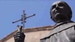 圣盖博市开棺庆祝建市百年