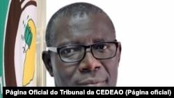 Edward-Amoako-Asante, presidente do Tribunal da CEDEAO