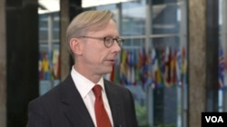 U.S. Special Representative for Iran Brian Hook speaks to VOA Persian at the State Department, Nov. 18, 2019
