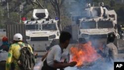 Протести у Каракасі, Венесуела