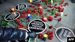 Hrant Dink'in Beşinci Ölüm Yıldönümünde İstanbul'da Protesto