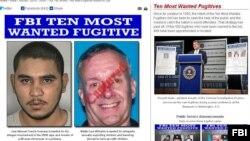 Trang web của FBI cho thấy ông Walter Lee Williams đã bị bắt.