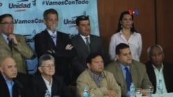 Oposición venezolana anuncia mecanismos para cambio de gobierno