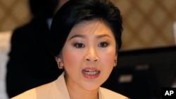 泰國總理英祿 (資料照片)