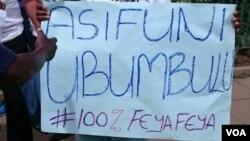 Abantu beZimbabwe bathi bafuna ukhetho olubalulekileyo lonyaka.