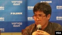 Iwa Garniwa, Ketua Pengkajian Energi dari Universitas Indonesia (Foto: VOA/Iris Gera)