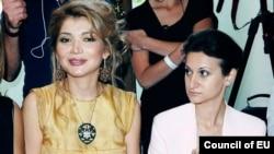 Gulnora Karimova va Gayane Avakyan, bir necha yil oldin olingan surat. Avakyan bugun qamoqda.