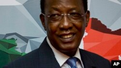 Shugaban Chadi Idriss Deby