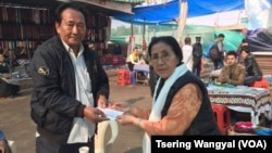 Tibetan Women's Association Donates Rs 6,43,950 to Tibetan Market Fire Victims in Delhi