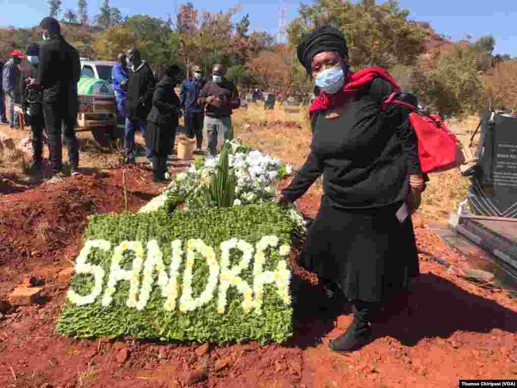 Sandra Nyaira Burial