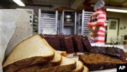 El complejo de correcionales cuenta con su propia panadería.