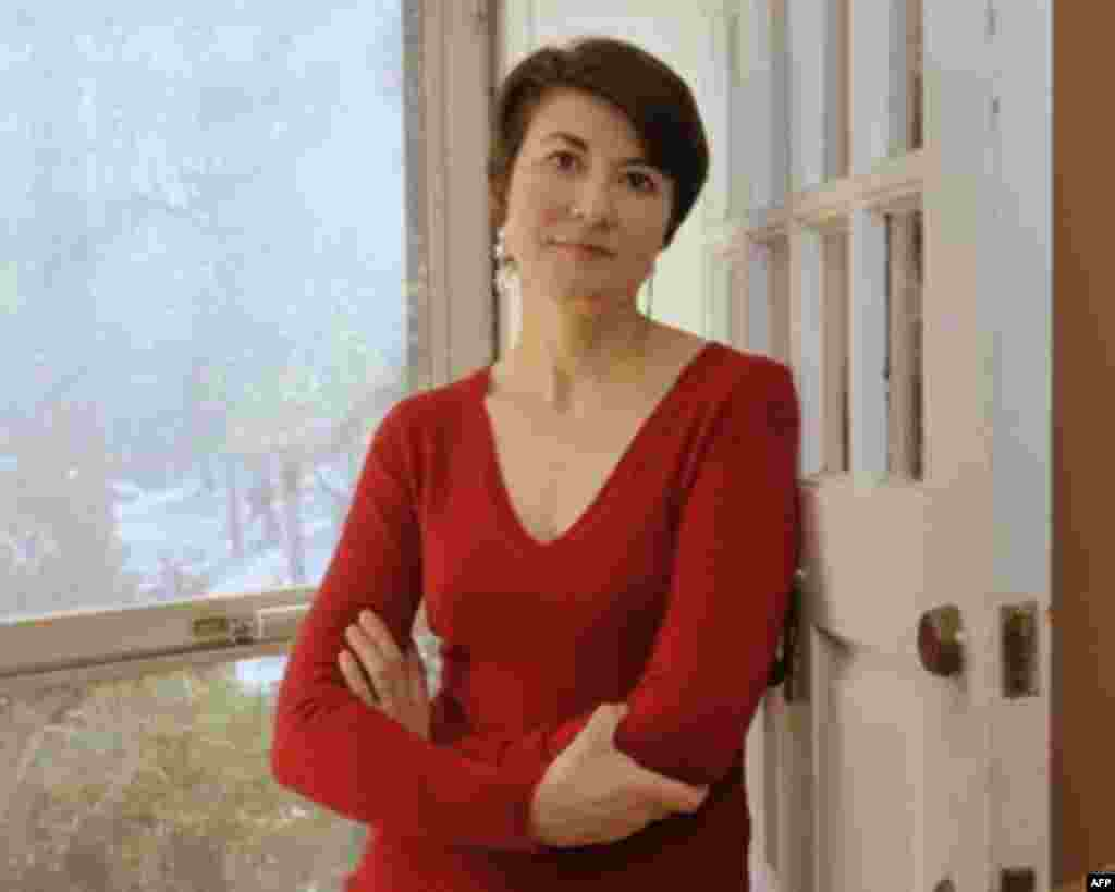 Русско-американский писатель Ольга Грушина