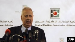 رییس کمیسیون انتخابات فلسطینی