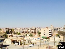 FILE - Qamishli is the largest city in a part of Syria that has been largely untouched by the war against Islamic State. (M. Civiroglu/VOA)
