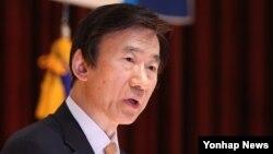 윤병세 한국 외교부 장관이 30일 서울 도렴동 외교부에서 개막된 2015년도 재외공관장 회의에서 개회사를 하고 있다.