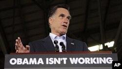 Ông Mitt Romney tìm cách thuyết phục các cử tri rằng ông là một lựa chọn tốt hơn để lãnh đạo đất nước so với Tổng thống Barack Obama