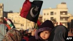 Демонстрація проти Каддафі в Бенгазі
