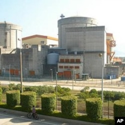 中國廣東省大亞灣核電站 (資料圖片)