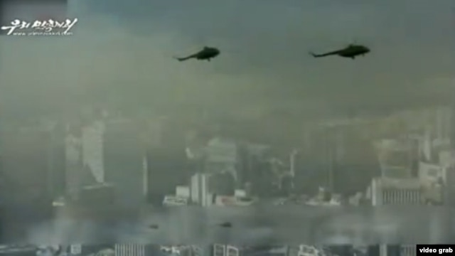 North Korea has released a video depicting an invasion of South Korea.