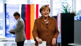 တတိယသက္တမ္းျပန္အႏိုင္ရဖြယ္ရွိေနတဲ့ ဂ်ာမဏီဝန္ႀကီးခ်ဳပ္  Angela Merkel (စက္တင္ဘာ ၂၂၊ ၂၀၁၃)