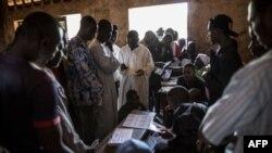 Les officiels électoraux en Republique Centrafricaine
