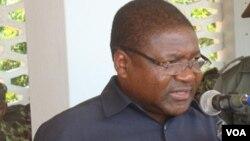 Candidato presidencial da Frelimo, Filipe Nyusi