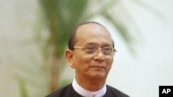 緬甸總統吳登盛(資料圖片)