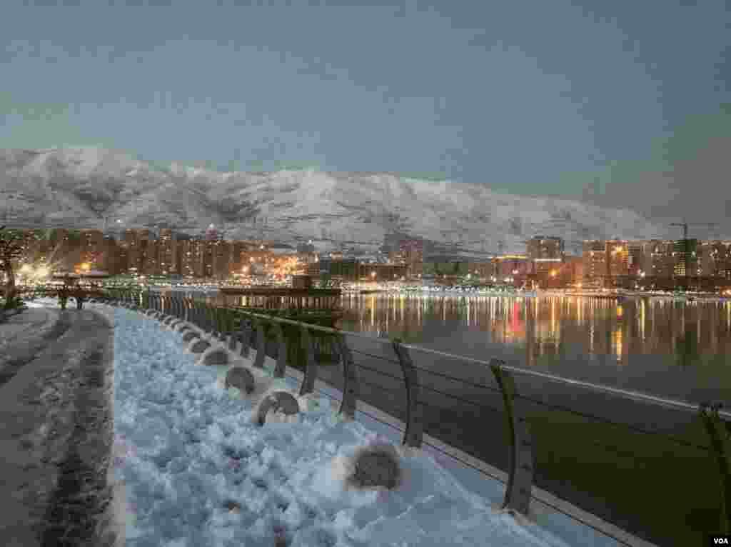 دریاچه چیتگر تهران عکس: آرش (ارسالی شما)