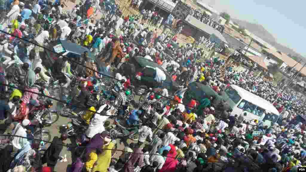 Janaral Buhari a Gombe, Fabrairu 3, 2015