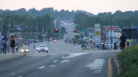 生活处于正常状态下的美国密苏里州的小镇弗格森 (美国之音杨晨拍摄)