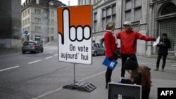 """瑞士11月30日星期天舉行""""黃金公投""""。決定是否對移民進行嚴格限制。"""