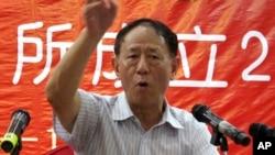 据香港媒胡耀邦的长子胡德平的资料照。胡德平是胡知鸷的父亲。