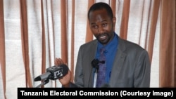 Emanuel Kawishe, director of the legal services department of the National Electoral Commission of Tanzania