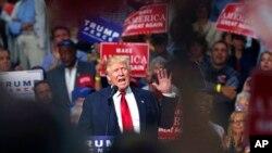 Donald Trump speaks, Akron, Ohio, 22 août 2016.