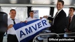 """""""Seacor Cougar"""" gəmisinə AMVER mükafatı təqdim edilib"""