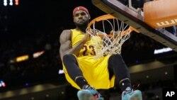 LeBron James, Miami, 25 décembre 2014.