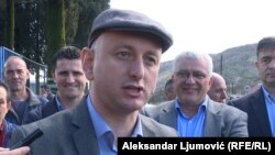 """Proces je bio montiran a presuda već napisana"": Milan Knežević, foto: Aleksandar Ljumović (RFE/RL)"