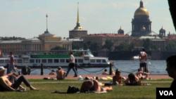 俄罗斯古城圣彼得堡视频截图