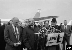FILE - Israeli Prime Minister Menachim Begin, speaking during a 1982 visit to New York, was an Ashkenazi who deftly positioned himself as an outsider, winning over Mizrahis.
