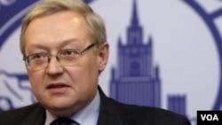 Rusiya xarici işlər nazirinin müavini Sergey Ryabkov