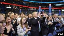 Делегаты съезда Республиканской партии